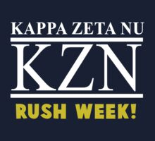 Workaholics - Kappa Zeta Nu RUSH WEEK! Stan Halen Shirt by erikaandmonty