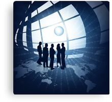 Business people Canvas Print