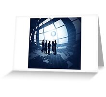 Business people Greeting Card