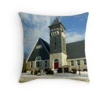 Grace Methodist Church Throw Pillow