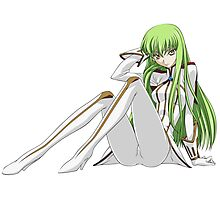 Code Geass - CC 2 Photographic Print