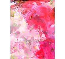 Painted Flowers III Photographic Print