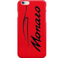 Monaro Red iPhone Case/Skin
