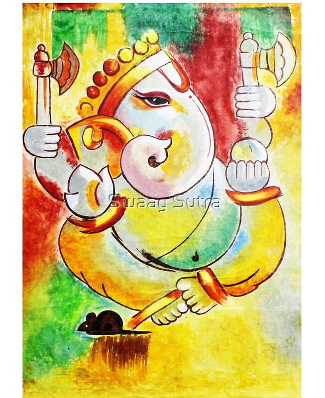 ganesha paintings modern art - photo #12