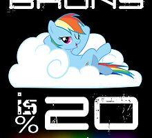 This Brony is 20% Cooler. by Pomfy