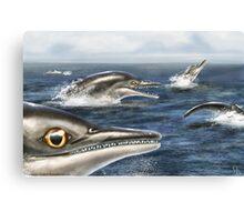 Barracudasaurus Canvas Print