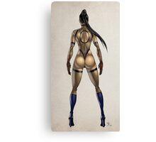 ninja woman Canvas Print