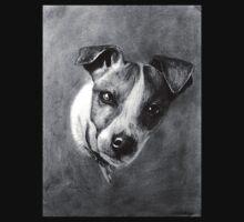 Dog Portrait Commission 1 One Piece - Short Sleeve