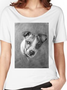 Dog Portrait Commission 1 Women's Relaxed Fit T-Shirt
