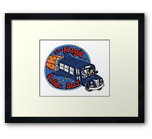 The Magic Police Bus Framed Print
