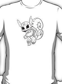 Wartortle de los Muertos | Pokemon & Day of The Dead Mashup T-Shirt