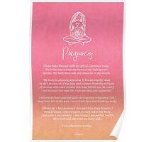 Affirmation - Pregnancy Poster