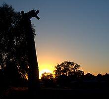 giraffe tree by fazza
