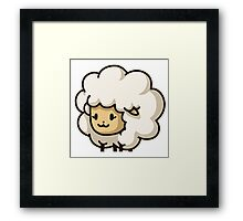 Quantum Sheep Temporal Defender Framed Print