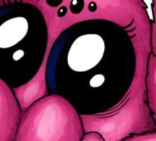 Cute Pink Spider Sticker