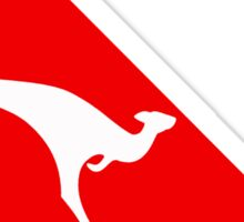Qantas The Dying Kangaroo Sticker