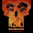 Django Unchained Alternative Movie Poster by SFDesignstudio
