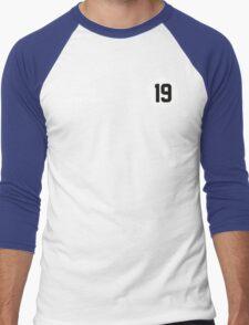 Racers Jersey - White/ White Men's Baseball ¾ T-Shirt