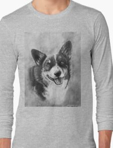 Dog Portrait Commission 2 Long Sleeve T-Shirt