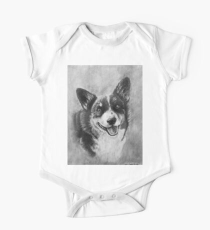 Dog Portrait Commission 2 One Piece - Short Sleeve