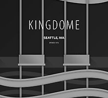 Minimalist Kingdome - Seattle, WA by pootpoot