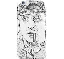 Genius in a Deer Stalker iPhone Case/Skin