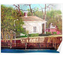 The Pelleteir House 1850 Poster