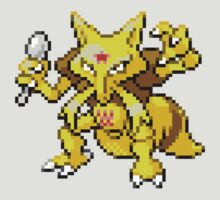 64 - Kadabra by ColonelNicky