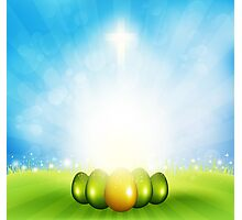 Easter  Background Photographic Print