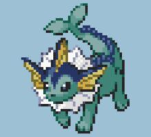 134 - Vaporeon by ColonelNicky