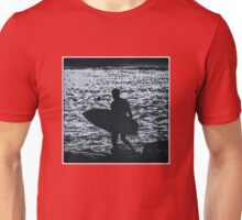 Blue Surfer Unisex T-Shirt