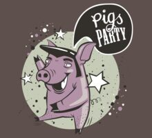 pig's party by locandia