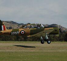 Chipmunk Take-off @ Barossa Airshow, Australia 2011 by muz2142