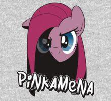 Pinkamena: The Darker Half (With Text) Baby Tee