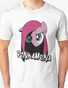 Pinkamena: The Darker Half (With Text) Unisex T-Shirt