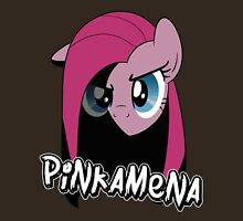 Pinkamena: The Darker Half (With Text) Unisex T-Shirt
