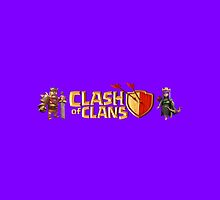 Clash of Clans by Curvingcrayon Art