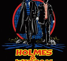 Holmes and Watson Poster by Olipop
