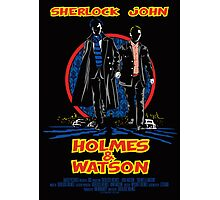 Holmes and Watson Poster Photographic Print