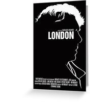 London Poster Greeting Card
