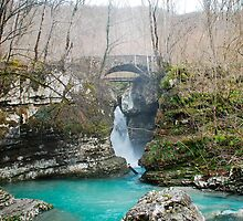 Waterfall on Kozjak River by jojobob