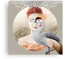 Bird of Cranes Canvas Print