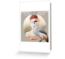 Bird of Cranes Greeting Card