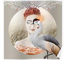 Bird of Cranes Poster