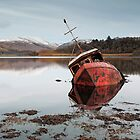 Shipwreck by Photo Scotland