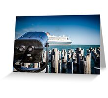 Queen Mary 2 Greeting Card