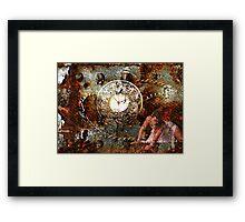 Time Slave Framed Print
