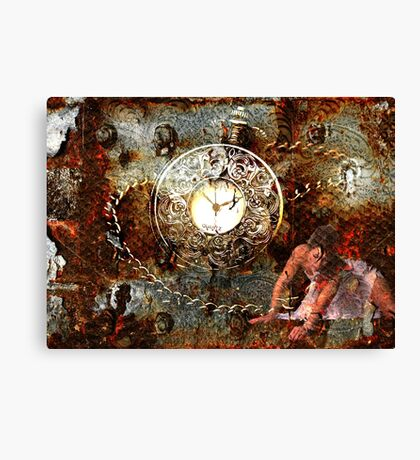 Time Slave Canvas Print