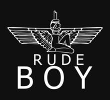 Rude boy Rihsis white by Lexatchison