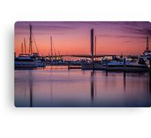 Bolte Sunset Canvas Print